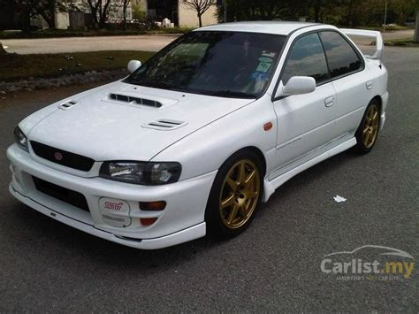 subaru gc8 coupe subaru impreza 1998 wrx 2 0 in selangor manual sedan white