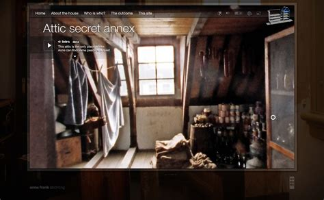 where is the anne frank house take a virtual tour of the anne frank house