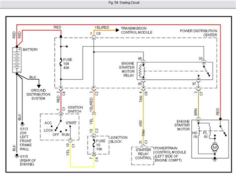 ignition wiring diagram for 2000 dodge caravan
