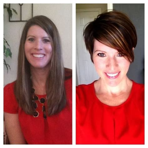 before and after pics of triangle face hairstyles 279 best haircuts and color before and after images on