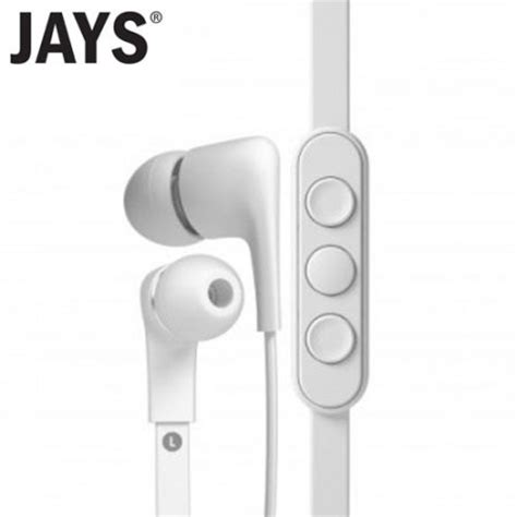 Mgearphone With Microphone Jays Five For Ios ecouteurs a jays five pour ios blanc avis mobilefun fr