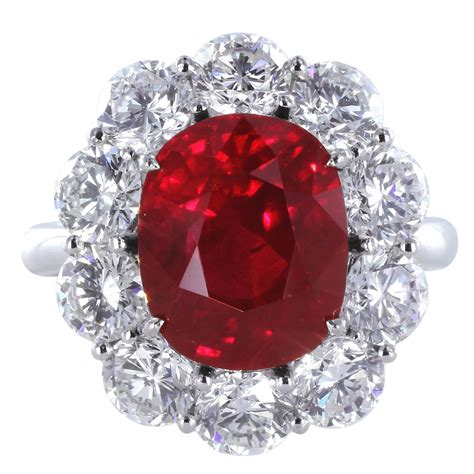 Ruby Ring by An Exquisite Collection Of Burmese Ruby Rings Gorgeous