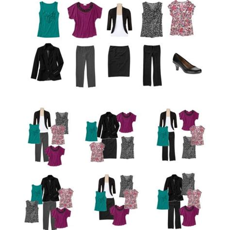 10 piece wardrobe outfits minimalist 10 piece work wardrobe by simplyfunfashion on