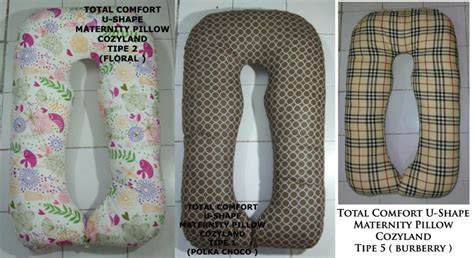 Total Comfort U Shape Pillow Cozyland Maternity Pillow u shape maternity pillow for to be dijamin nyaman tidur menyusui ibuhamil