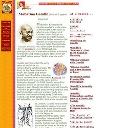 gandhi biography history history is a record of perpetual wars b by mahatma gandhi