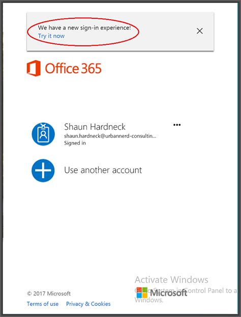 Office 265 Login by New Microsoft Office Sign In Experience