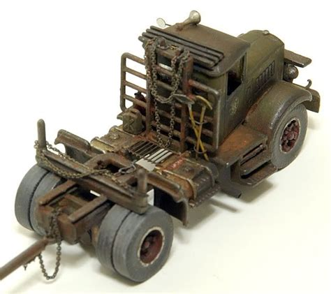 1 87 scale weathered mack logging tractor weathered ho