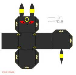 Papercraft Umbreon - umbreon papercraft by charrchan on deviantart