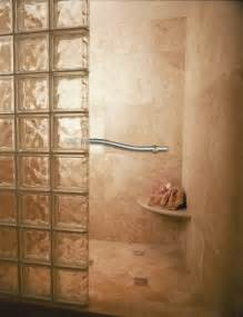 shower glass block handicap showers innovate building solutions