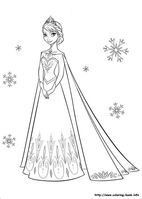 frozen coloring pages elsa frozen elsa coloring pages
