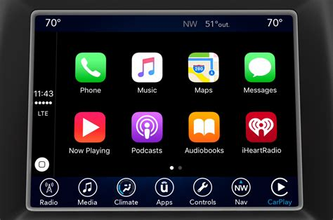 Mini Connected Apple Carplay Fiat Chrysler Uconnect Gains Apple Carplay Android Auto