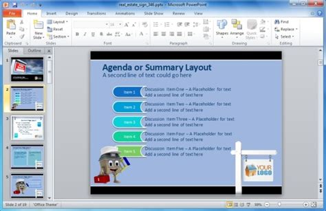 make template powerpoint ppt presentation sle make real estate presentations