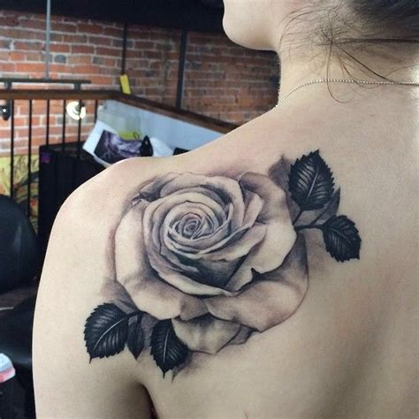 black and grey tattoos new orleans black and white rose tattoos pinterest rose tattoo