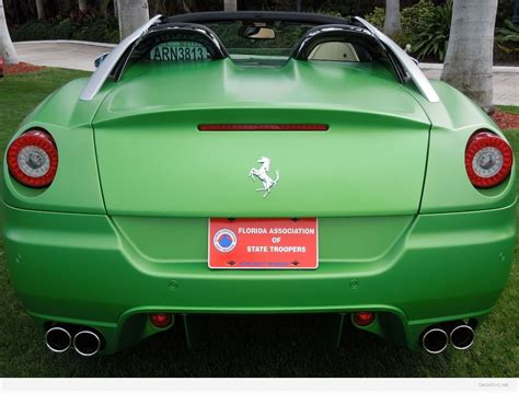 pergut car 100 matte green ferrari ferrari may build an suv