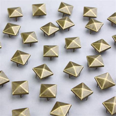 100 clous d 233 coratifs pour v 234 tements pyramidaux en bronze 15mm