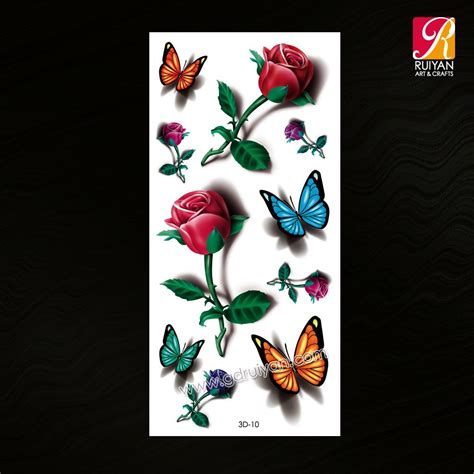 temporary tattoo jakarta custom 3d color spider temporary tattoos in tattoo sticker