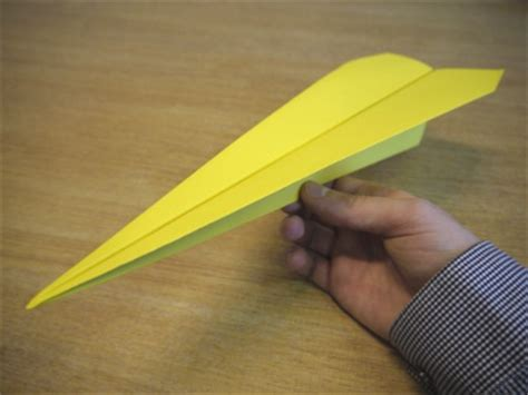 How To Make Paper Darts - paper aeroplanes the dart