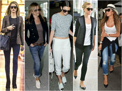 celebrity style what to wear to the airport for a celebrity look the