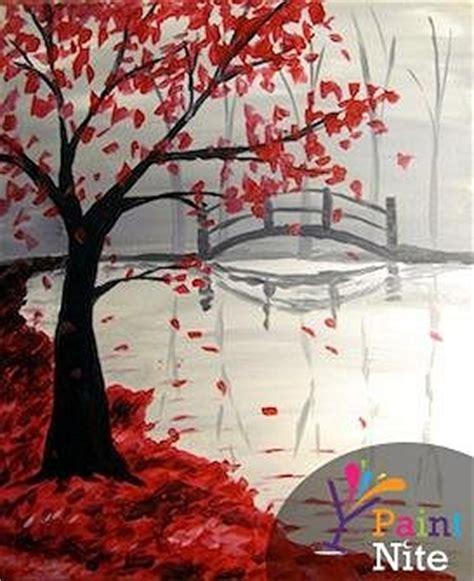 paint nite partner painting boston paint nite bridge in the fall partner painting