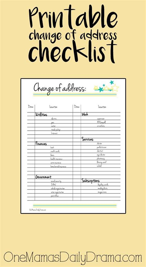 printable moving to do list 83 best planner printables hacks accessories images on