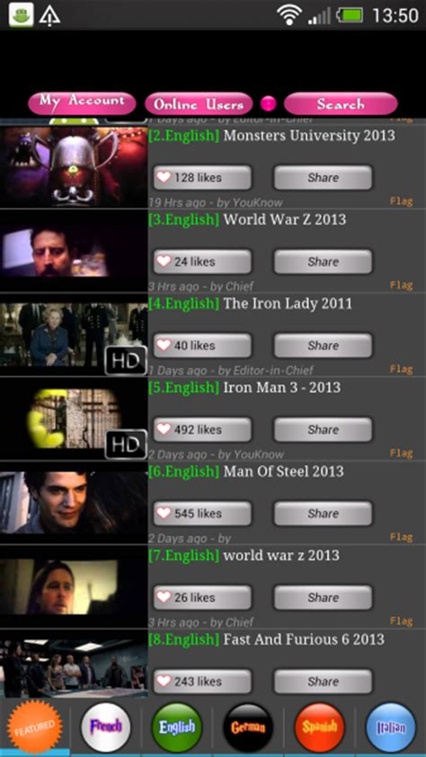 movietube android movietube app gratuite android