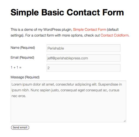 contact form 7 theme template best 20 contact forms plugins for news