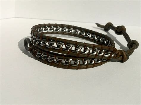 Handmade Mens Leather Bracelets - picks s ankle bracelets