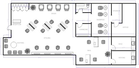 small beauty salon floor plans salon floor plan 3 salon business project pinterest