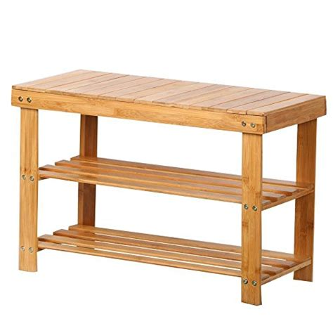 amazon com winsome dayton storage hall bench with shelves topeakmart shoe rack bench hallway storage organizer