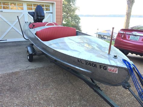 feathercraft boats feathercraft vagabond racing boat 1949 for sale for 1 300