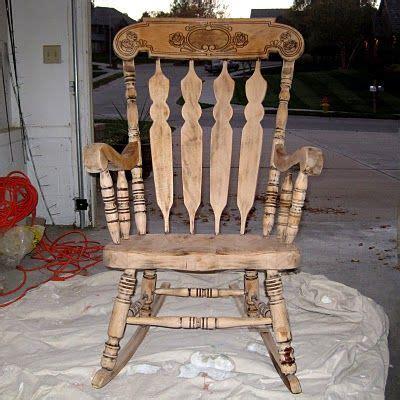 refinishing  rocking chair   sistersbetween