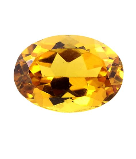 Yellow Citrin buy 1 84 cts oval cut yellow citrine gemstone