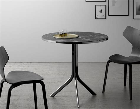 Marble Bistro Table And Chairs Marble Top Bistro Table For Home Or Cafe Homesfeed