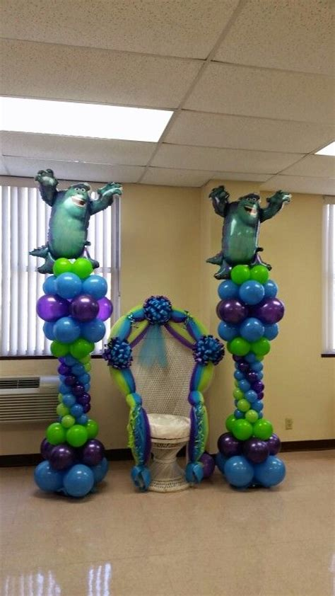 monsters inc baby shower centerpieces 25 best ideas about baby showers on