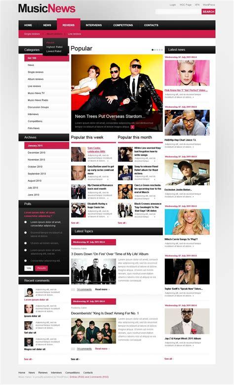 theme exles yahoo comfortable portal wordpress theme photos exle resume