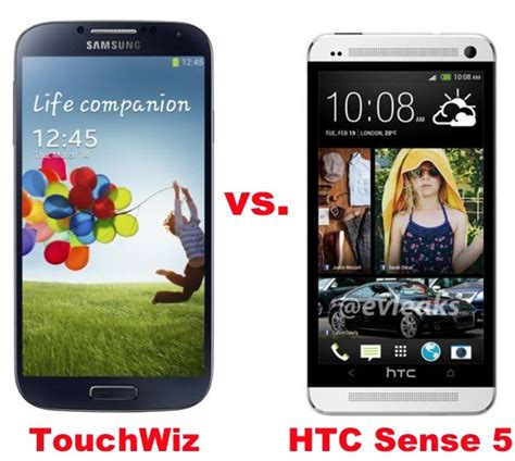 galaxy s4 features samsung galaxy s4 vs htc one software feature showdown 推酷