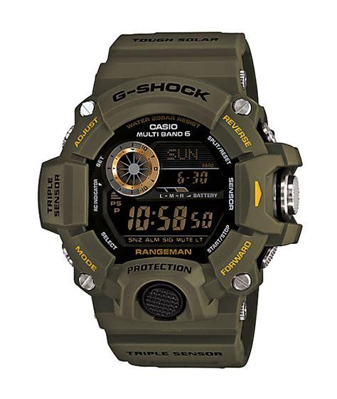 G Shock Gw 9400 Black g shock gw 9400 rangeman olive black zumiez