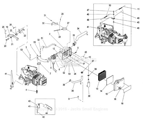 generac parts diagram generac 862 2 parts diagram for engine accessories