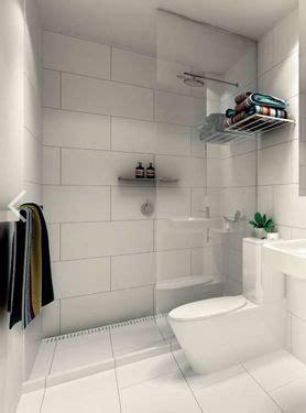 Big Tiles In Small Bathroom Large White Tiles Grey Grout Bathrooms Pinterest
