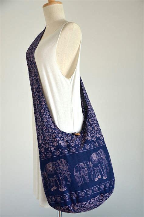 elephant bag hippie hobo bag sling crossbody bag boho by