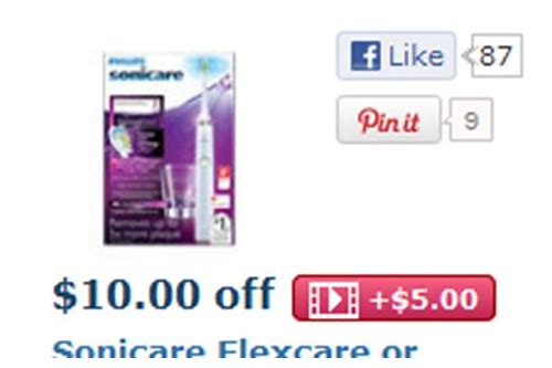 sonicare diamondclean coupon code