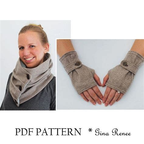 sewing pattern for infinity scarf infinity scarf pattern scarf sewing pattern scarf pdf