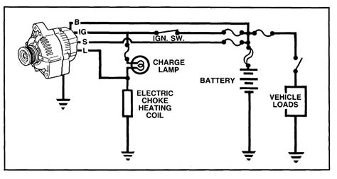 charging system diagram image gallery charging system