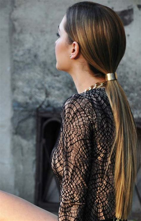 Low Ponytail Hairstyles by 30 Ponytail Hairstyles You Need To Try Stayglam