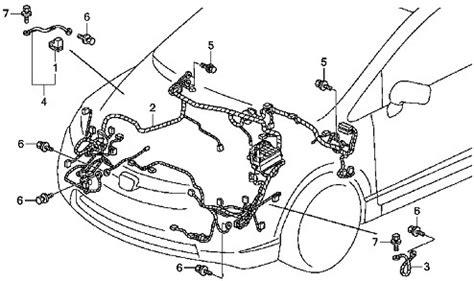 2009 civic ex engine wire harness