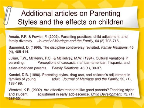 printable attachment style questionnaire baumrind parenting styles quiz