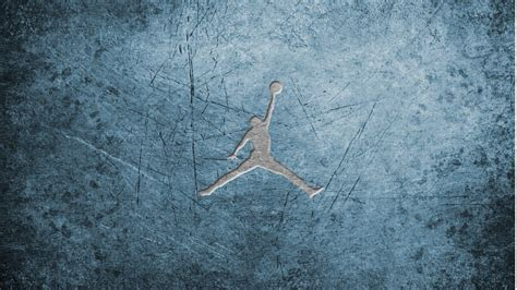 blue jordan wallpaper jumpman logo wallpapers wallpaper cave