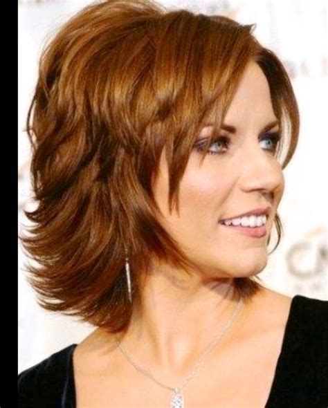 medium length hairstyles for heavy set women 15 best hairstyles for overweight women over 50 images on
