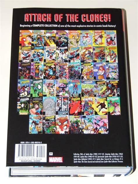 spider man clone saga omnibus 1302907980 amazing spider man clone saga omnibus volume 1 oversized hardcover with dust jacket 1st