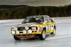 Rallye Audi Audi Quattro Rally Cars Heading To Eifel Rallye Festival